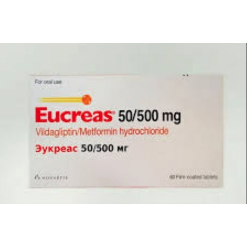 EUCREAS 50/500 MG