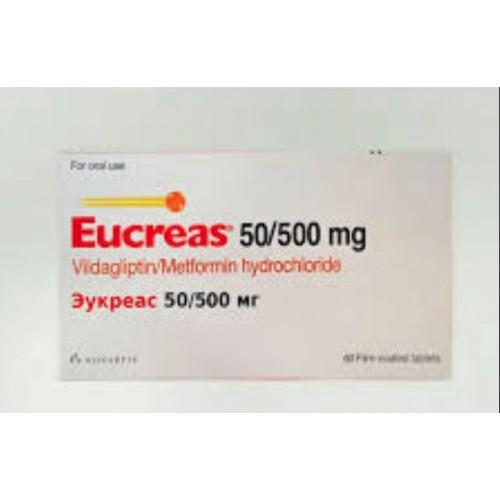 EUCREAS 50/500 MG