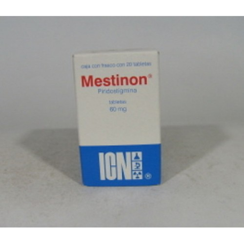MESTINON DRAGEES 60 MG