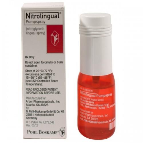 NITROLINGUAL SPRAY