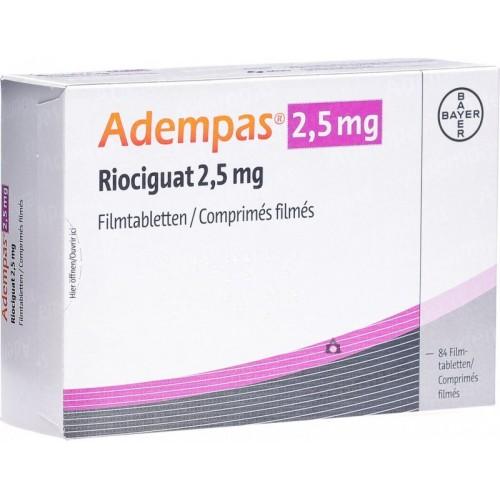 ADEMPAS 2.5 MG
