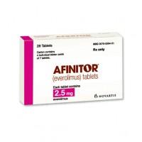 AFINITOR 2.5 MG