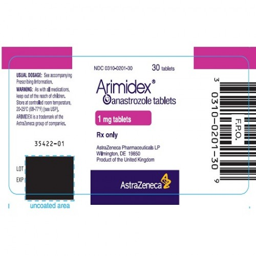 ANASTROZOLE INOVAMED 1 MG