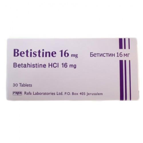 BETISTINE 16 MG