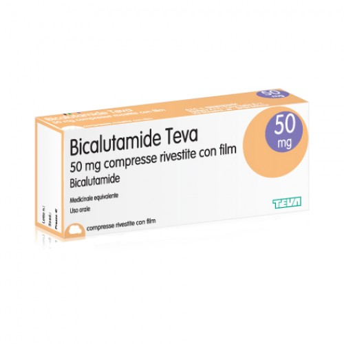 BICALUTAMIDE TEVA 50 MG