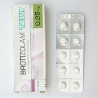 BROTIZOLAM TEVA 0.25 MG