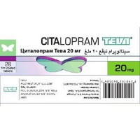 CITALOPRAM TEVA 20 MG