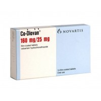 CO-DIOVAN 160/25 MG FILM-COATED TABLETS