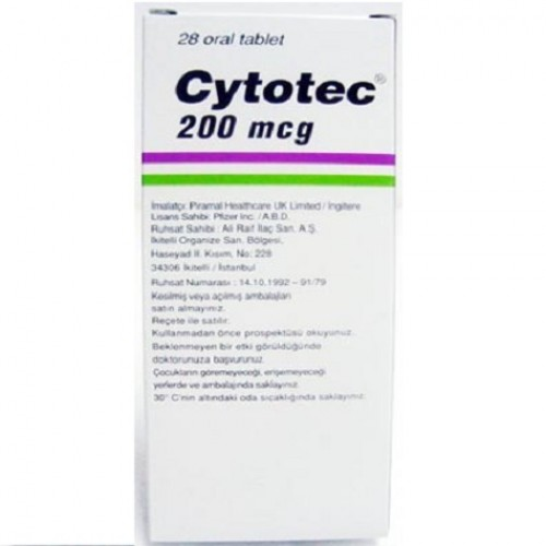CYTOTEC 200 MCG TABLETS