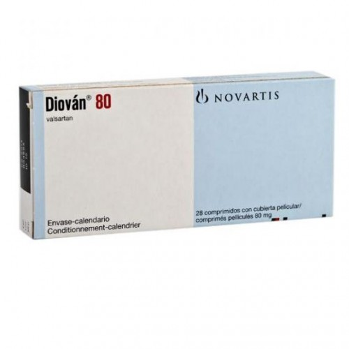 diovan 80 mg film coated tablets