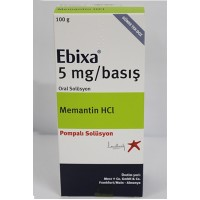 EBIXA 5 MG/PUMP ACTUATION ORAL SOLUTION