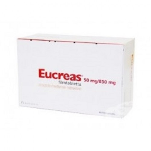 EUCREAS 50/850 MG