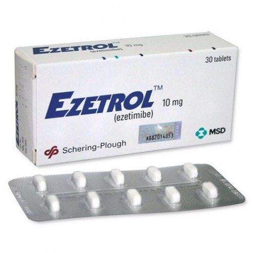 EZETROL 10 MG TABLETS