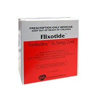FLIXOTIDE NEBULES 0.5 MG/2 ML