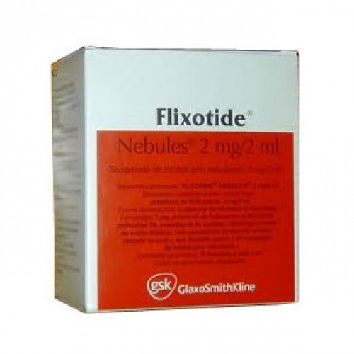 FLIXOTIDE NEBULES 2 MG/2 ML