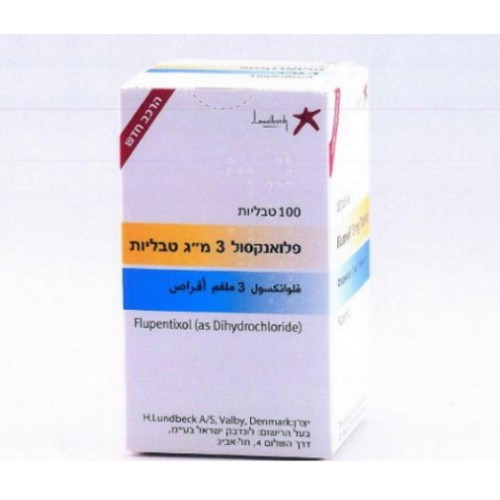 FLUANXOL 3 mg tablets