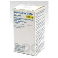 GEMCITABINE MEDAC 1000 MG