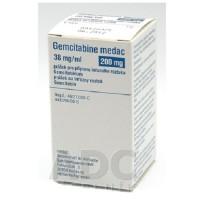 GEMCITABINE MEDAC 200 MG