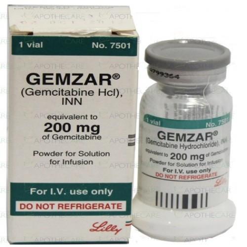 GEMZAR 200 MG