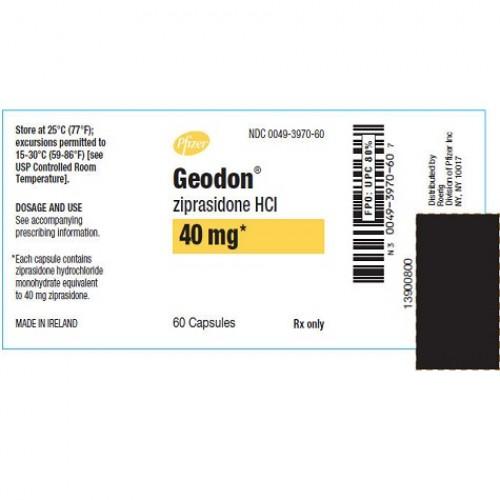 GEODON 40 MG CAPSULES