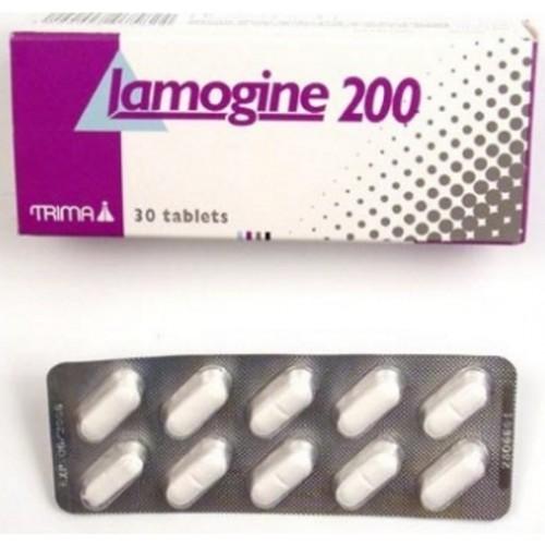 LAMOGINE 200 MG