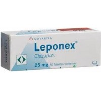 LEPONEX 25 MG TABLETS