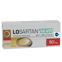 LOSARTAN TEVA 50 MG