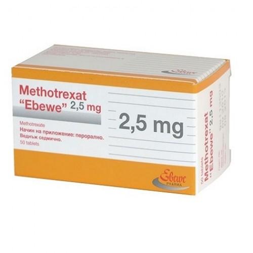 METHOTREXAT EBEWE 2.5 MG TABLETS