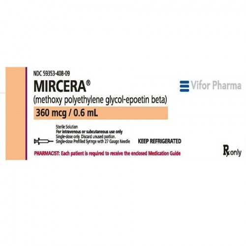 MIRCERA 360 MCG/0.6 ML