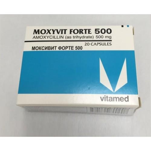 MOXYVIT FORTE 500 CAPSULES