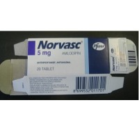 NORVASC 5 MG TABLETS