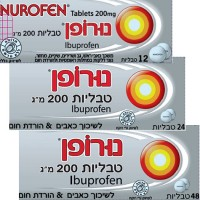 NUROFEN TABLETS 200 MG