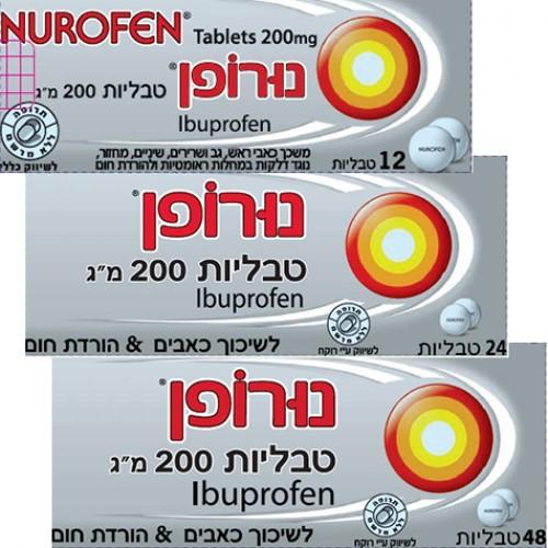 NUROFEN TABLETS 200 MG
