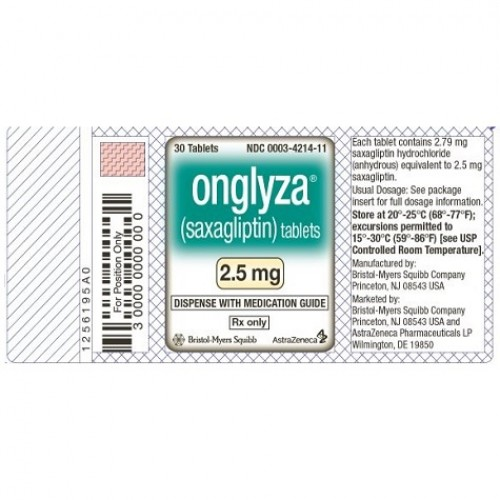 ONGLYZA 2.5 MG
