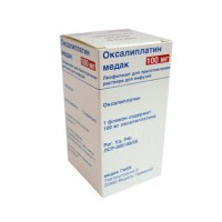 OXALIPLATIN MEDAC 100 MG
