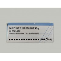 PAPAVERINE HCL 40 MG