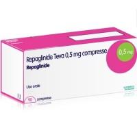 REPAGLINIDE TEVA 0.5 MG