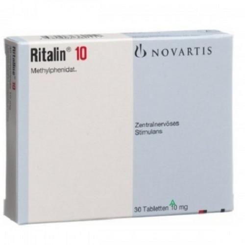 RITALIN 10 MG TABLETS