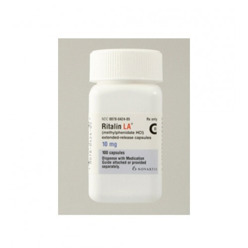 RITALIN LA 10 MG MODIFIED-RELEASE CAPSULES
