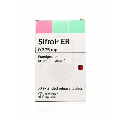 SIFROL ER 0.375 mg