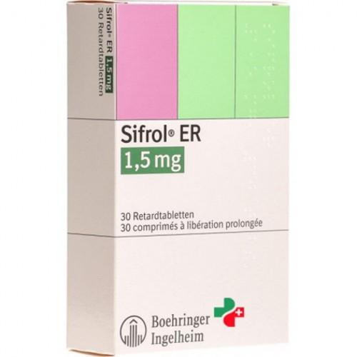 SIFROL ER 1.5 MG