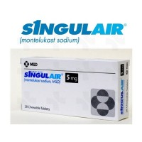 SINGULAIR 5 MG CHEWABLE TABLETS