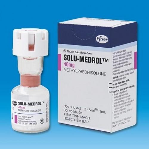 SOLU MEDROL 40 MG/ML