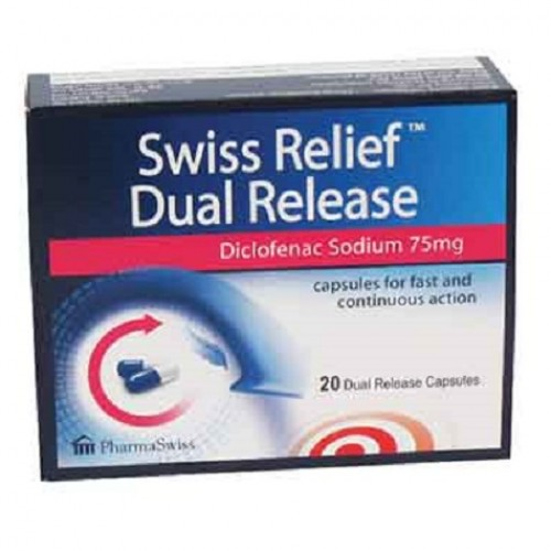 SWISS RELIEF DUAL RELEASE