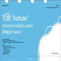 TOBI PODHALER 28 MG
