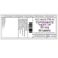 TOPIRAMATE TEVA 50 MG