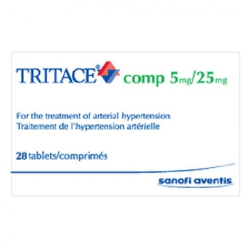 TRITACE COMP 5 MG/25 MG