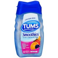 TUMS SMOOTHIES EX ASSORTED TROPICAL FRUIT