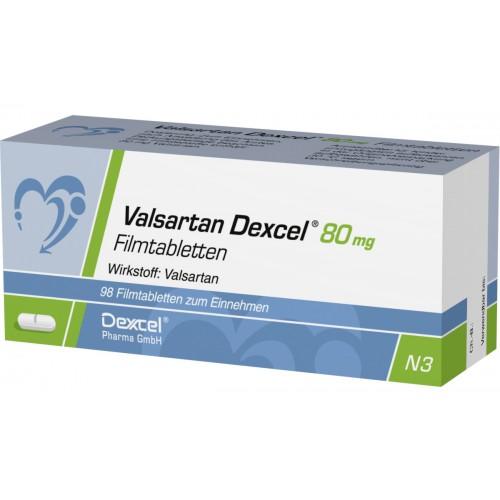 VALSARTAN DEXCEL 80