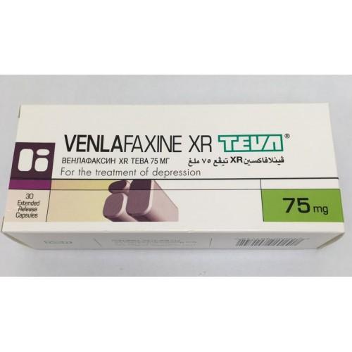 VENLAFAXINE XR TEVA 75 MG